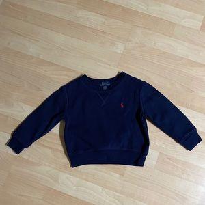 Polo Ralph Lauren Boys Navy Sweatshirt 2T